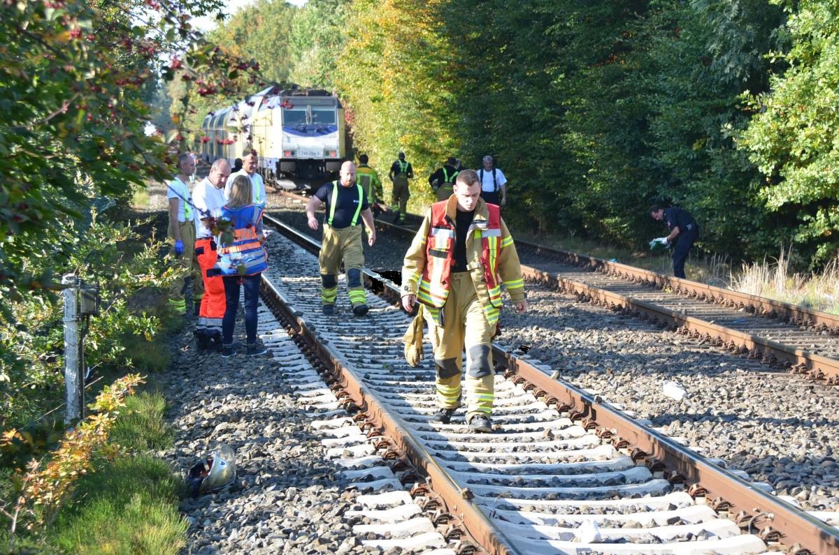 Unfallort Bahnunfall Stade