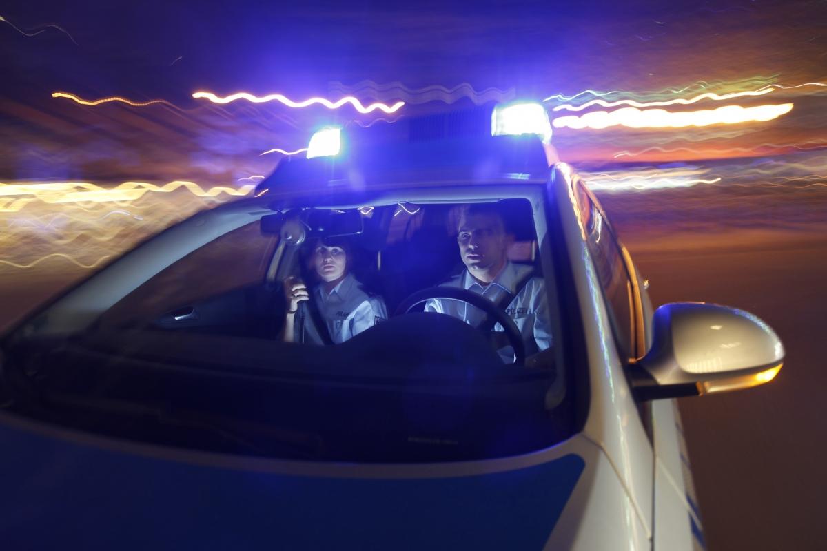 Einsatzfahrt Polizei