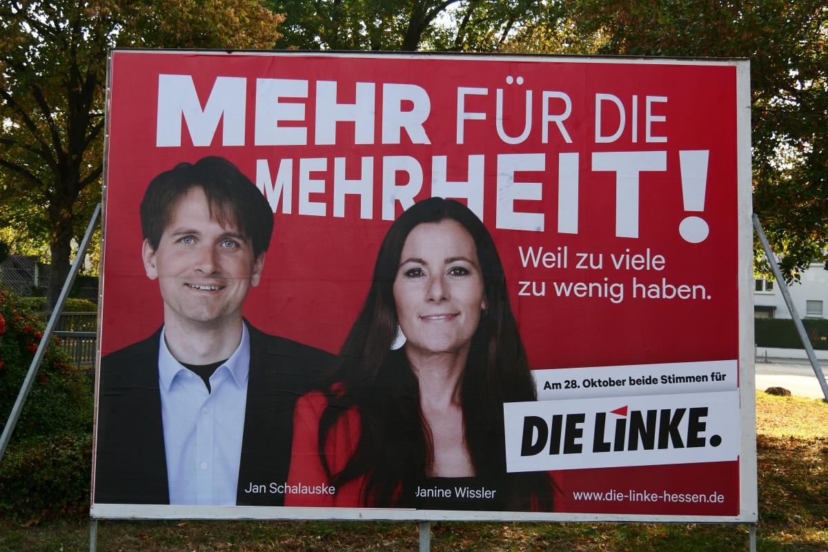 Symbol-Wahlplakat