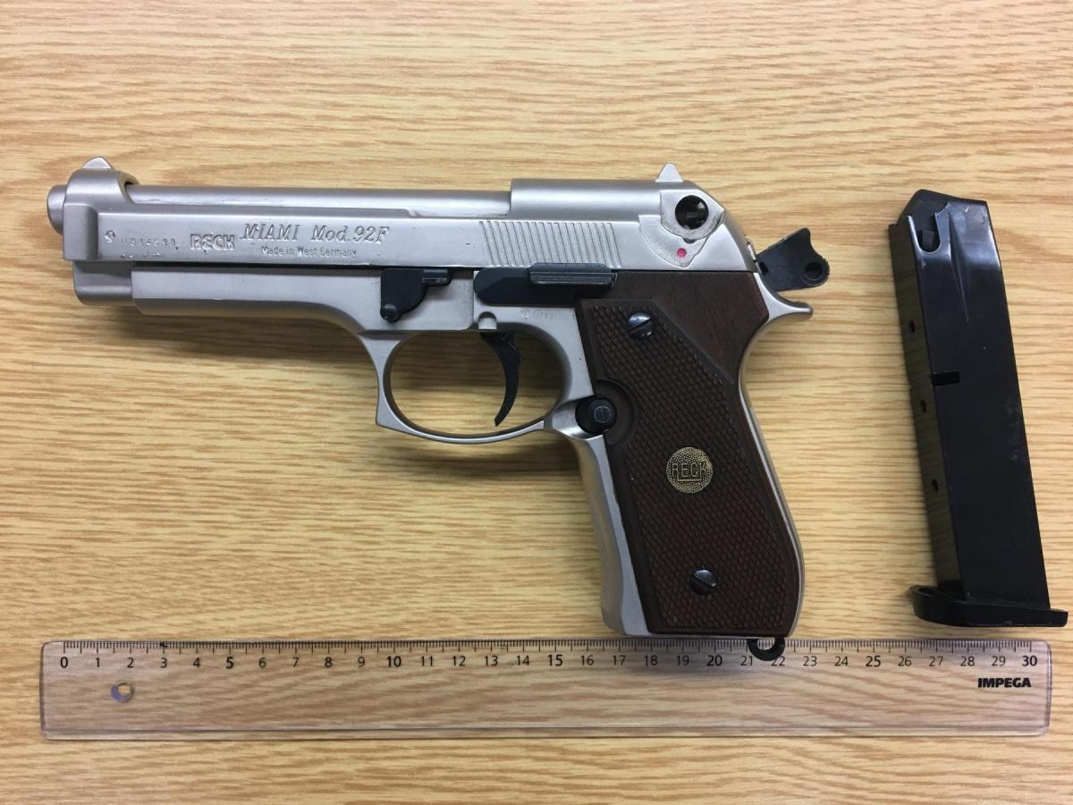 Bild: Bundespolizei Waffe