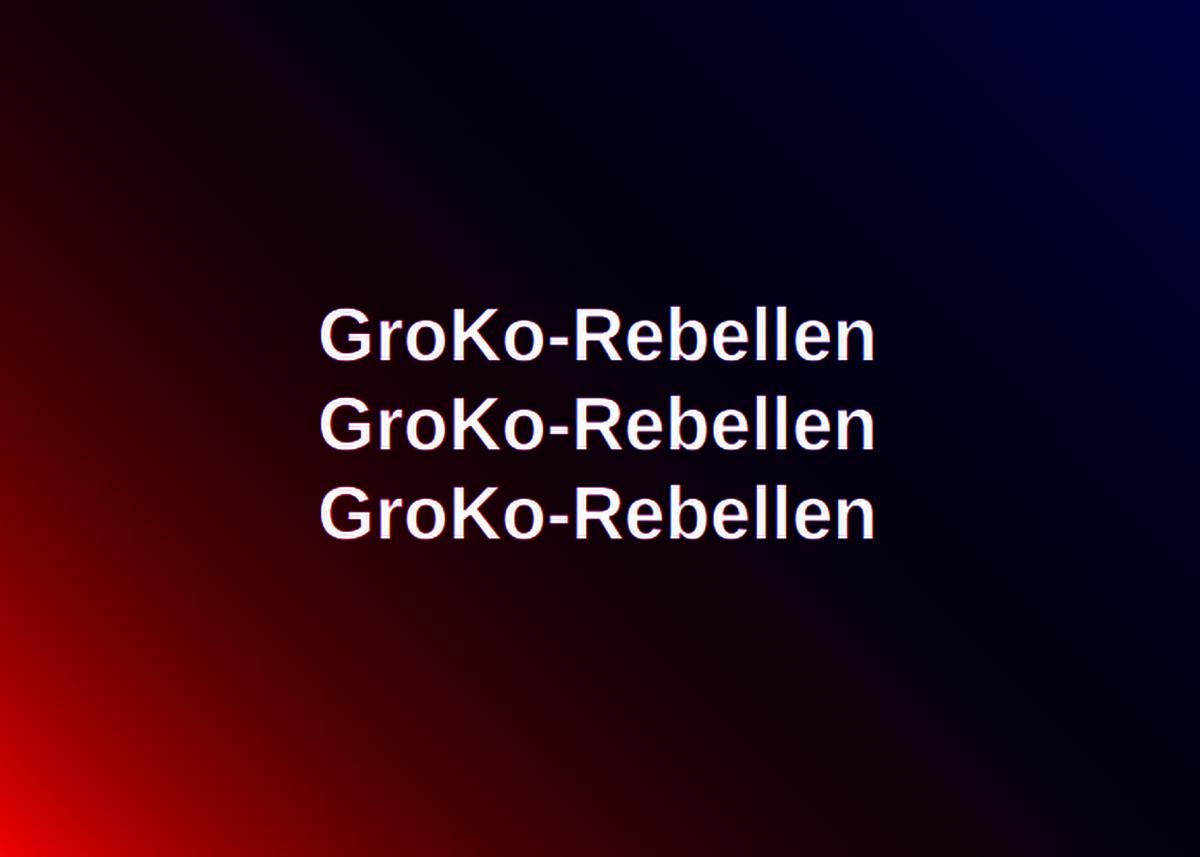 GroKo-Rebellen