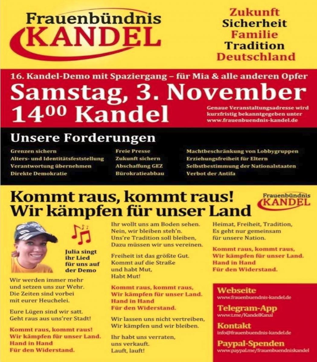 Foto by: Screenshot Facebook Kandel Demo