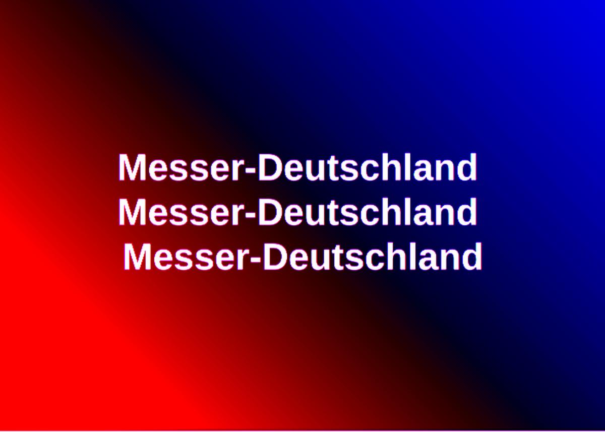 Messer-Deutschland