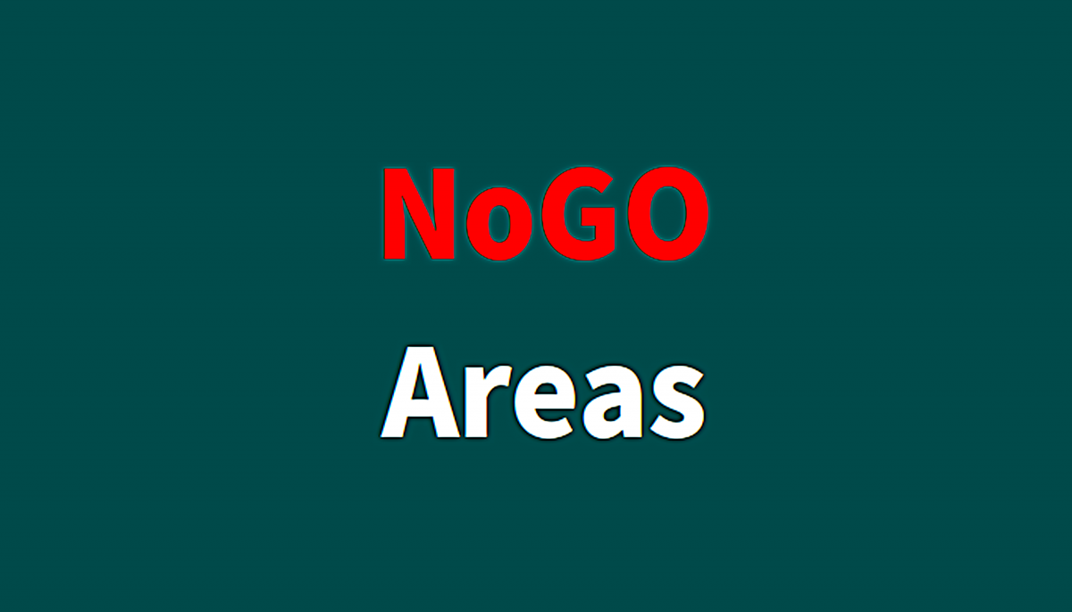 NoGo-Areas