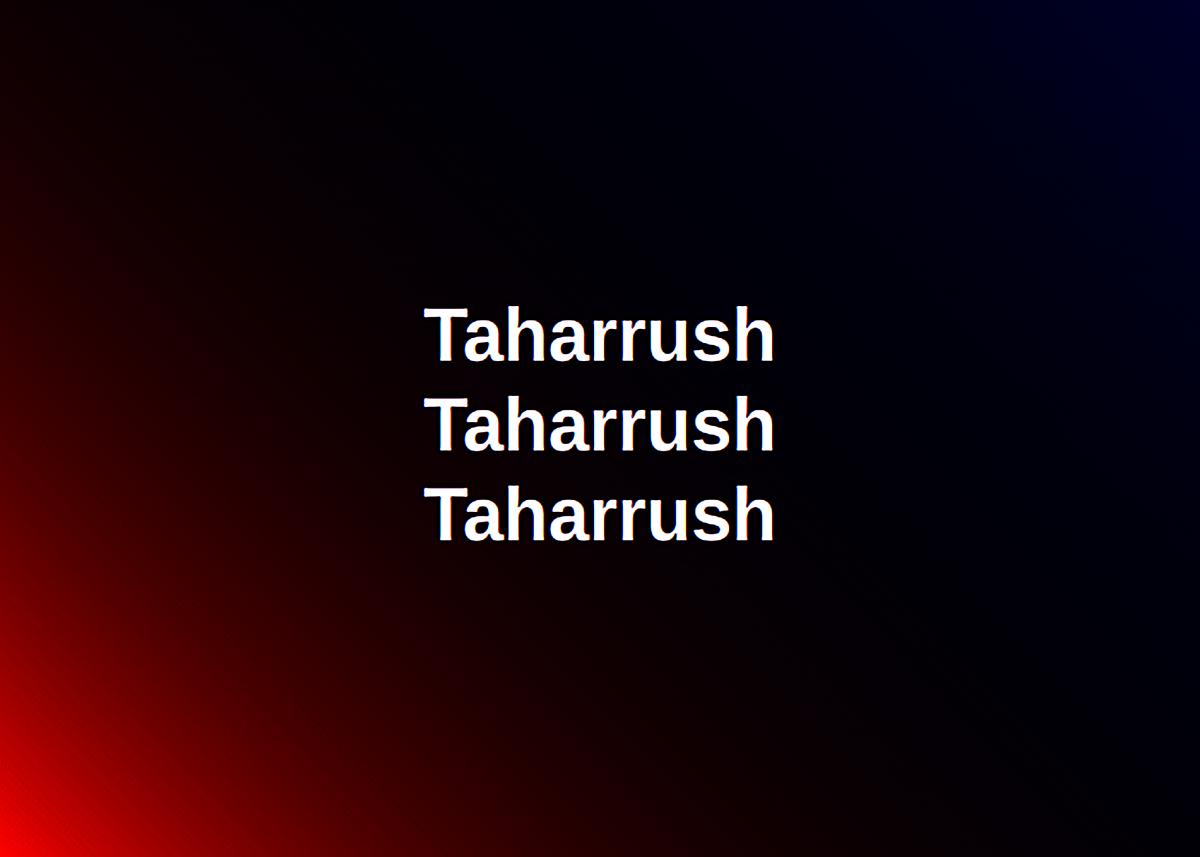 Taharrush