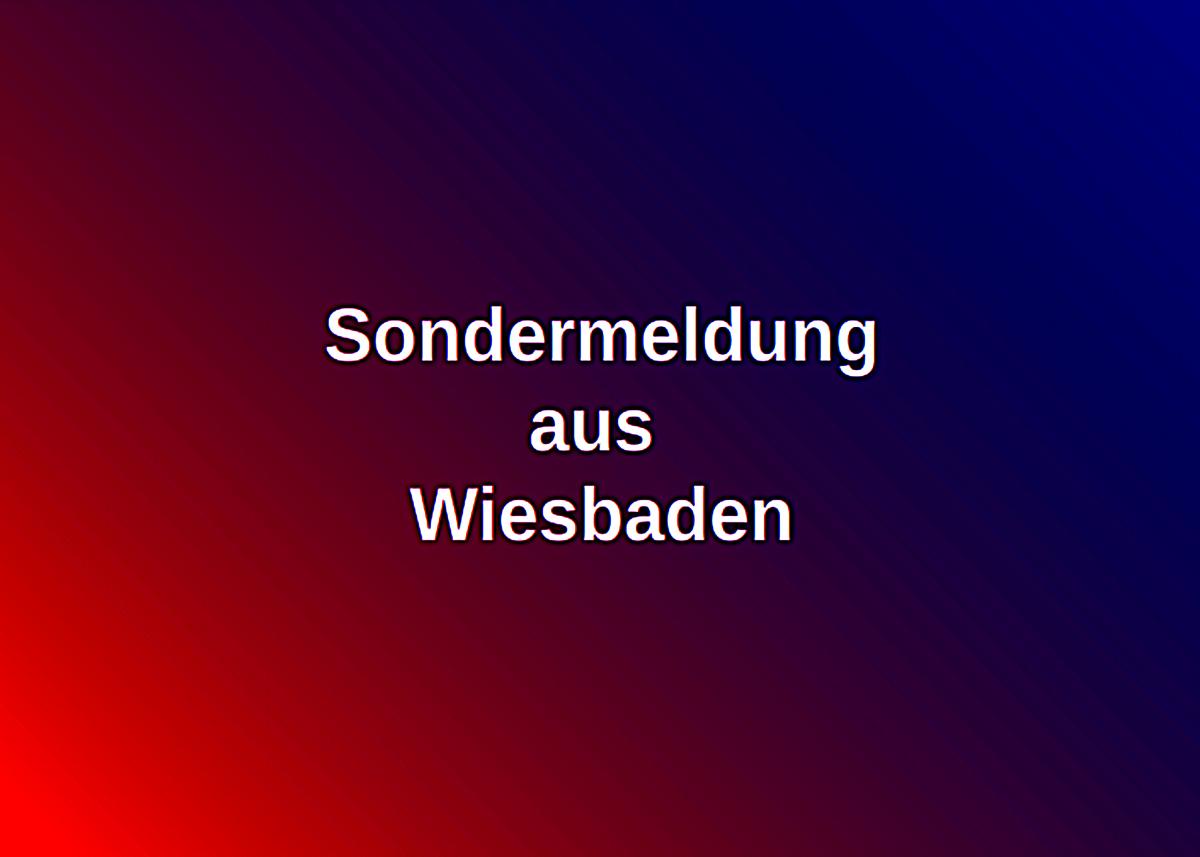 Wiesbaden Sondermeldung