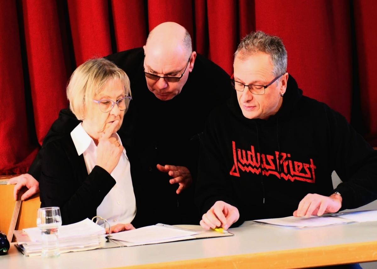 Gudrun Rödel, Thomas Henning und Norbert Rank