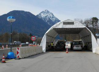 Originalbild Bundespolizei-Grenzkontrollstelle Schwarzbach