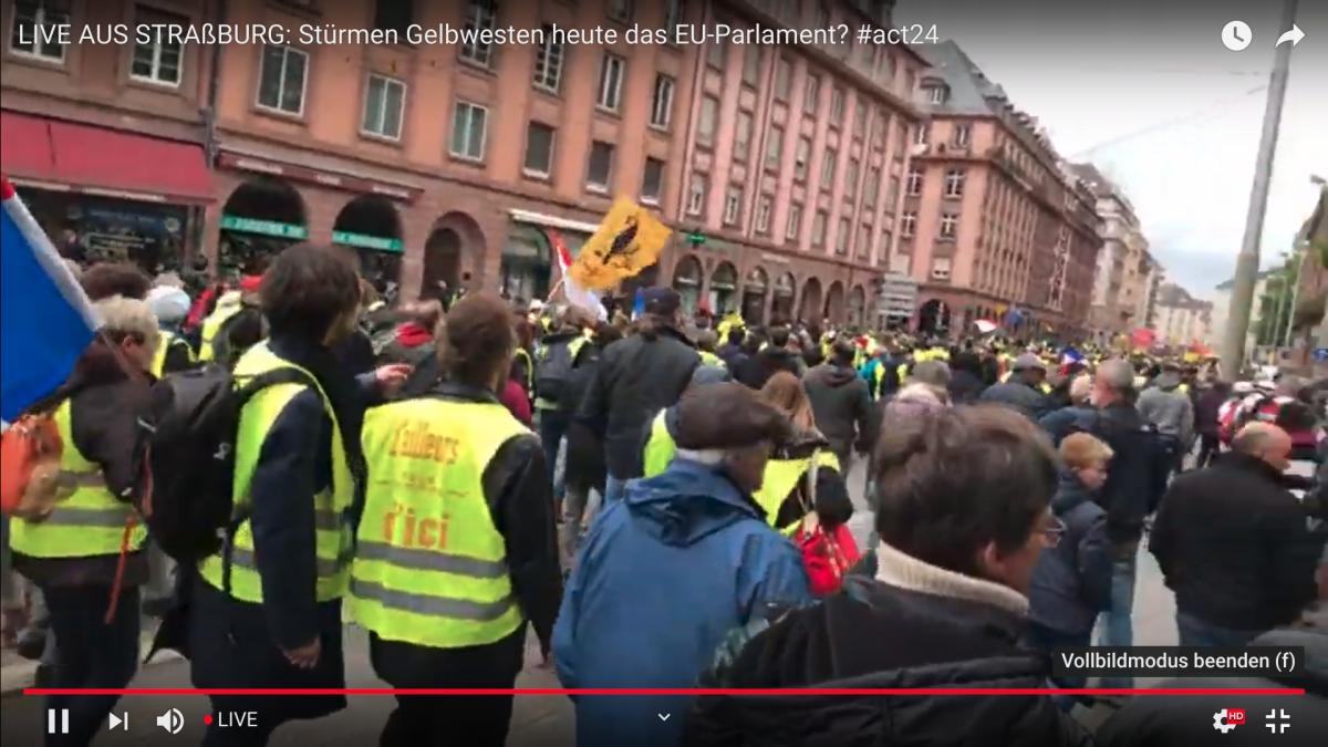 Gelbwesten Livestream