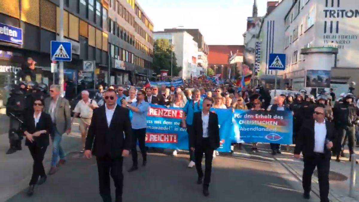 Afd Demo Hannover