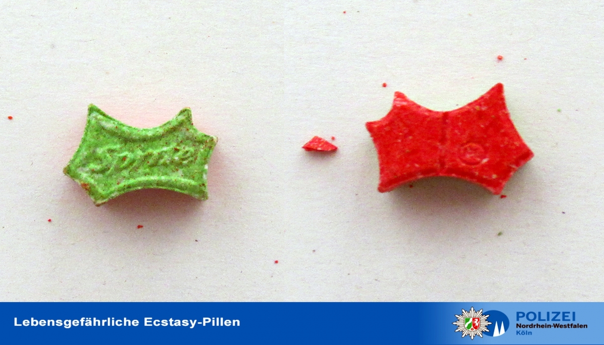 Ecstasy-Pillen