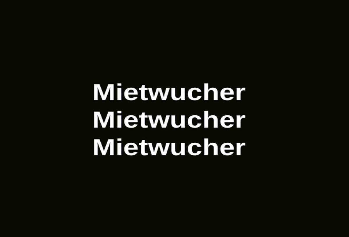Mietwucher Miete