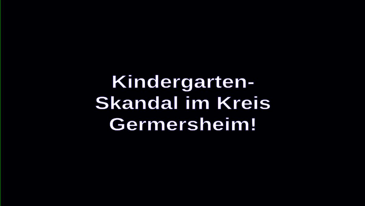 Kindergarten-Skandal