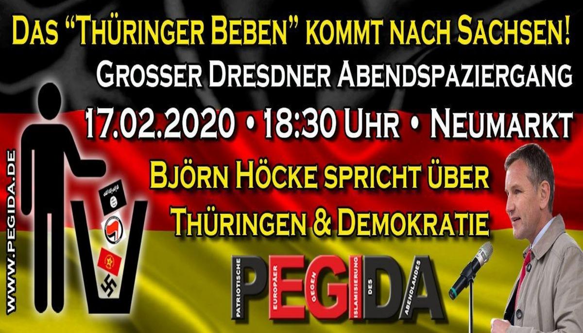 Foto: Pegida Dresden