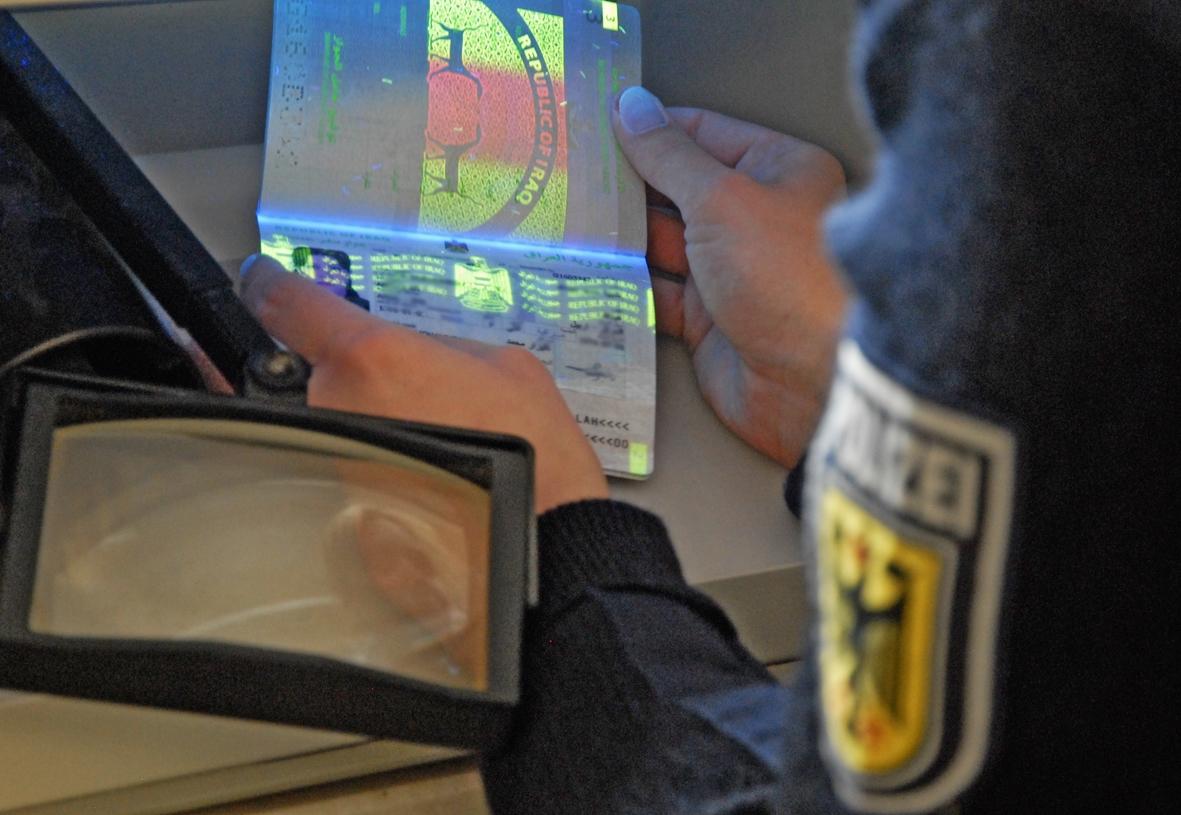 Urkundenprüfung Bundespolizei