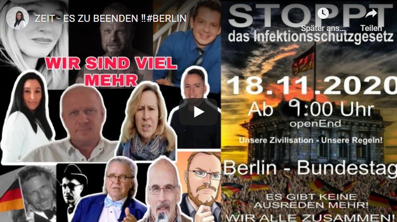 DIES IST EIN AUFRUF AN ALLE MENSCHEN IN DEUTSCHLAND – ZEIT – ES ZU BEENDEN !!! #BERLIN | Pressecop24.com